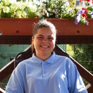 Katarína Auxtová, opatrovateľka